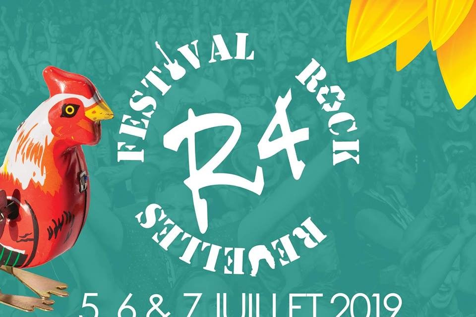 Proxelia fournisseur officiel de l'énergie du festival rock R4